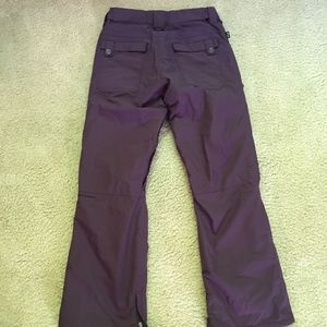 Foursquare lined snow pants, size S